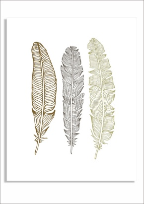 Feather free print