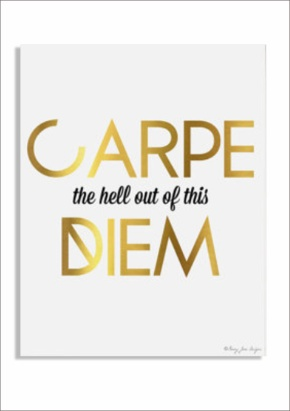 carpe diem print